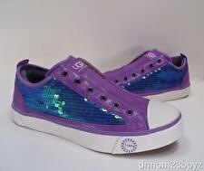 New NIB Ugg Laela Sparkles Sequined Sparkly Sneakers Violet Lavender Purple