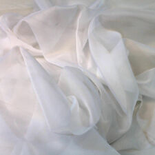 20 ft. High X 118 in. Wide Sheer Voile Drape Curtain, Weddings Events (4 colors)