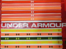 NEW! UNDER ARMOUR UA SIGNATURE LOGO NEON BRIGHT JELLYGRIP SPORT HEADBAND X 1