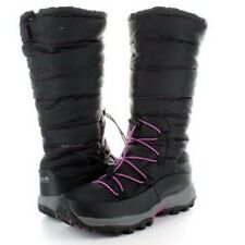 Regatta Lady Arctic Moon Womens Waterproof Warm Fleece Lined Snow Boots Black