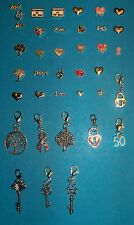 Memory Living Locket Floating Charms Dangle Clips Family Love