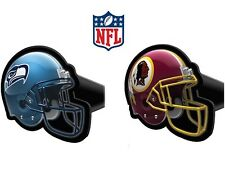 "NFL HELMET TOW HITCH COVER football car/truck/suv trailer 2"" receiver plug cap"