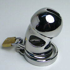 Male Dungeon Stainless Steel Chastity/Device/Cage/Restraint/CB Bondage Fetish