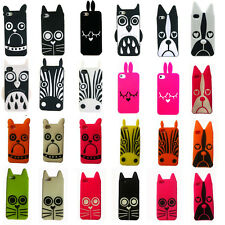 3D Cute Cartoon Super Hero Back Silicone Cover Cases For Apple iPhone 4G 4S 5S