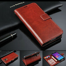 Luxury Flip PU Leather Card Photo Wallet Case Cover  For Samsung Galaxy Note 4