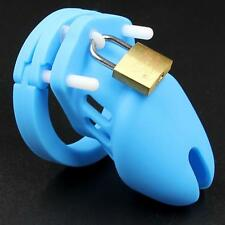 Silicone Male Chastity Device Cage CB Device Belt Restraint 6000 Bondage Kink
