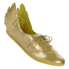 adidas Originals Jeremy Scott Gold Wings Easy Five D65208 Damen Ballerinas neu