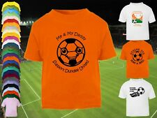 DUNDEE UNITED Football Baby/Kids/Children's T-shirt Top Personalised- Any colour