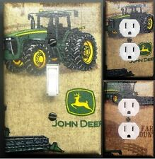 John Deere custom Light Switch wall plate covers man cave room decor