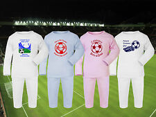 Football Baby/Toddlers Pyjamas set PJs ** CHOOSE ANY TEAM! 4 Designs / Sleepwear