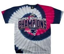 New England Patriots Super Bowl Champs 2014 XLIX Tye Dye t Shirt  Big Sizes too