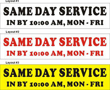 2ftX8ft Custom Printed (Dry Cleaners) SAME DAY SERVICE Banner with Your Text