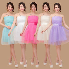 New Women's Sexy Party Evening Wedding Bridesmaid Prom Ball Short Dress Formal