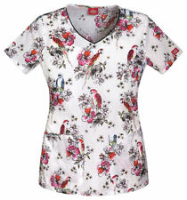 Scrubs Dickies Print Top Welcome To Paradise 82926 WLWR      FREE SHIPPING