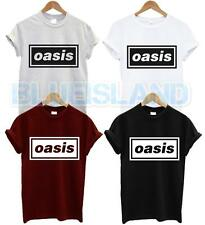 OASIS T SHIRT MUSIC BAND ROCK PUNK TOUR ALBUM TSHIRT NOEL LIAM UNISEX