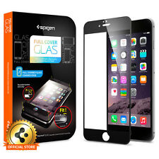 iPhone 6 Glass Screen Protector Spigen® Full Cover Glas [Full Screen Coverage]
