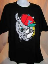 Mens new Marc Ecko Unltd shirt Pixel Head Tee size XL black nwt
