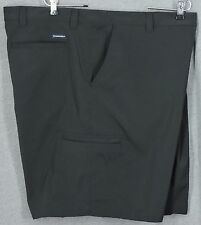 NWOT Men's Chaps Golf 78 Black Flat Front Short Sizes 46/48/50