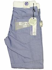 BOYS KIDS JEANS EZB292 LIGHT BLUE CUFFED LEG ALL SIZES 24 TO 29 REDUCED