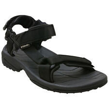 TEVA Mens 1001473 BLK Terra Fi Lite Velcro Water Sport Slide Sandals [ Black ]