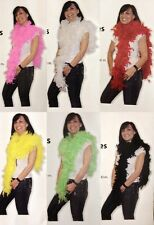 6 Colours 180 cm Feather Boa Feather Boa Scarf Spring scarf Carnival Fancy Dress