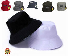 NEW Bucket Hat Mens UNISEX Reversible UCLA Casual Country Fishing Cap 8 COLOURS