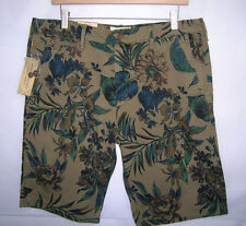 Ralph Lauren Denim & Supply slim chino shorts camo tropical floral, 36, MSRP $69