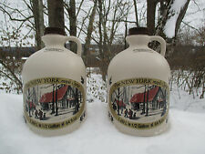 2 Half -Gallons of Pure NY Maple Syrup