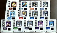 SKYLANDERS Giants STICKER SHEETS choose from 15 different characters! EXCLUSIVE