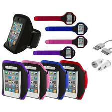 Arm Band Color Running Sports Gym+USB+Car Charger for iPhone 4 4G 4S 3GS S 3G 2G