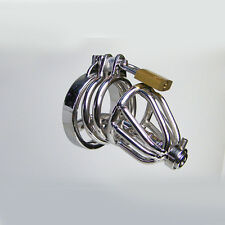 The Midget Stainless Steel Uretheral Male Chastity Cage Device CBT Fetish Kink