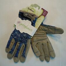 Greenhouse Planter Woman's Spandex Gloves w/ Leather Palm & Reinforced Fingertip