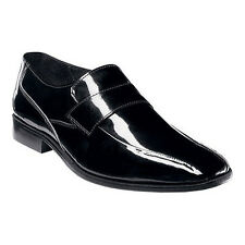 Stacy Adams DASHELL Mens Black 24668 Patent Leather Dress Tuxedo Loafer Shoes