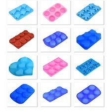 Silicone Molds for Chocolat Soap Candle Baking Making Moulds Pooh Flower bear