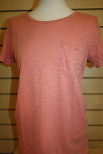 Joules LEA COTTON SHORT SLEEVED T-SHIRT - Ladies 10 14  Carnation Orange BNWT