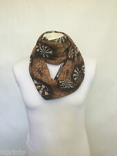 DARTS INFINITY SCARF JERSEY OR CHIFFON UNISEX FASHION PRINTED LOOP SCARVES