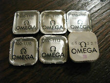 Omega Calibre 650 NOS Parts - See List for full details - All parts new & sealed