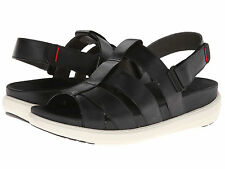 FitFlop Women's 380-001 Sling Comber Fisherman Sandals [ Black ]