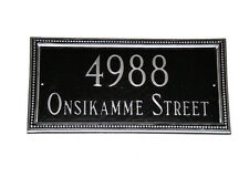 Verona Address Plaque Lawn Marker House Sign Numbers wall Custom Made 2 order