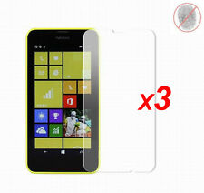 3x Anti-Glare Matte/ Clear LCD Screen Protector Guard Film for Nokia Lumia 630