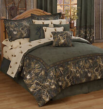 BROWNING WHITETAILS BEDDING - COMFORTER SET - FULL, QUEEN, KING