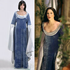 New Design The Lord Of The Rings Arwen Traveling Dress Cosplay Costume Halloween