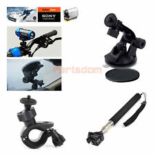Suction Cup Mount Bike Kit Sefile Stick Monopod Accessories For iON Air Pro Sony