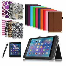 For E FUN Nextbook 8 NX785QC8G 7.85-inch Folio Cover Case + Protector + Stylus