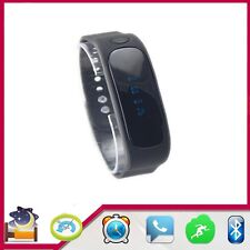 E02 Walk Calorie Bluetooth Smart Wrist Watch 5 colours Pedometer Step Counter