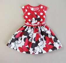 Minnie Mouse Dress Skirt Costume Princess Girls Kids Toddlers Baby 2T-6, Mickey