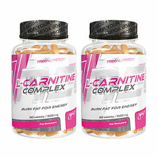 L-Carnitine Complex 90-270 Tablets Turn Fat Into Energy Fat Burner Weight Loss