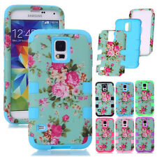 Peony Floral Pattern Printed Shockproof Matte Cases For Samsung Galaxy S Series