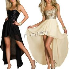 Sexy Women Sequins Long Formal Gown Prom Cocktail Evening Bridesmaid  Dress