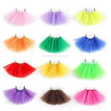 New 3 Layer Girl Kid Tutu Party Ballet Dance Wear Dress Skirt Pettiskirt Costume